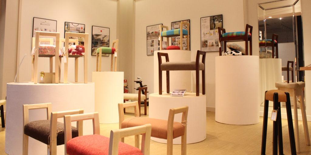 oursあべのand店 店内画像 家具